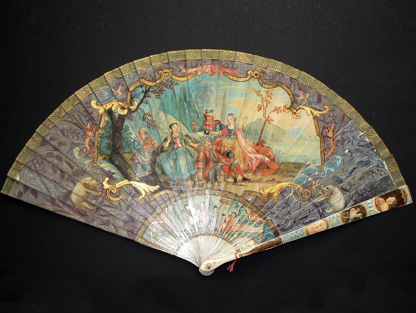 Brisé Fan before restoration