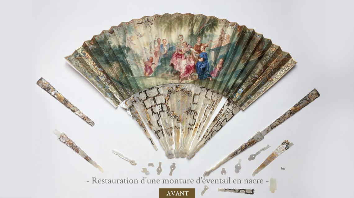 Restauration d'éventail avant-2